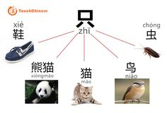 #Chinese measure word - 只 只:often used for some animals or one of a pair of something 一只____