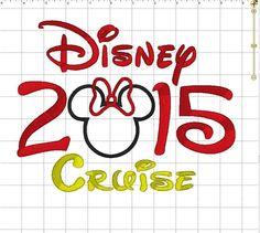 Minnie or Mouse 2015 Disney Cruise with by LauraBethDesignsLLC