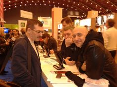 Authors Pavel Basinsky, German Sadulaev, Zakhar Prilepin at Read Russia together with Glagoslav Publications.