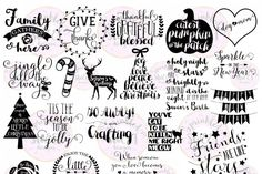 These digital files SVG & PNG format) are ready to use with your Cricut Design Space, Silhouette Studio Software, Vinyl Cutter ID 3020 Silhouette Cameo Projects, Silhouette Design, Silhouette Studio, Silhouette Files, Cricut Air, Cricut Vinyl, Vinyl Crafts, Vinyl Projects, Cricut Projects Christmas