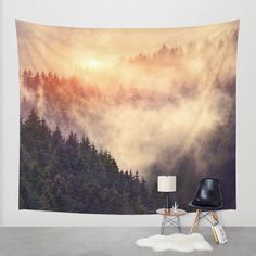 """In My Other World"" Wall Tapestry by Tordis Kayma on Society6."