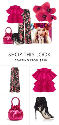 """""""Bright and Happy"""" by margaretkellogg on Polyvore featuring Dolce&Gabbana, Staud and Gianvito Rossi"""