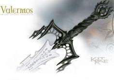 NobleWares Image of Kit Rae Valermos Sword of the Ancients model KR0007 by…