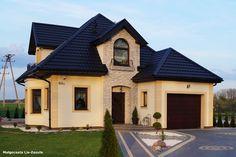 Dom w rukoli - zdjęcia z reazlizacji budowy domu wg projektu Biura Projektów ARCHON+.