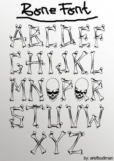 Days of the Dead Extention – alphabet – Bilder Graffiti Lettering Fonts, Tattoo Lettering Fonts, Hand Lettering Alphabet, Graffiti Alphabet, Lettering Styles, Creative Lettering, Calligraphy Fonts, Typography Letters, Bubble Letters Alphabet