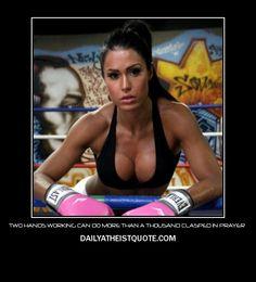 Sexy Atheist - http://dailyatheistquote.com/atheistquotes/2013/01/12/sexy-atheist/