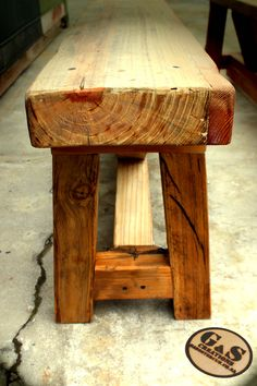 Another reclaimed wood show-piece - by GAS Creations. Re-use, RECYCLE, Re-purpose Outdoor Furniture, Outdoor Decor, Repurposed, Recycling, Bench, Wood, Home Decor, Madeira, Homemade Home Decor