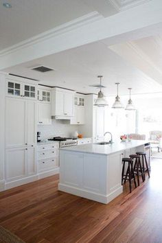 this was the inspiration for my last kitchen and will be used for my new kitchen too! Provincial Kitchens - Sydney
