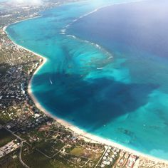 View of Grace Bay Beach, Turks and Caicos