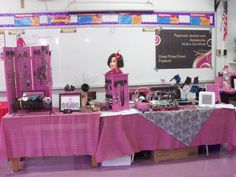 My display at a recent church bazaar last week.  Selling my Paparazzi Jewelry and Accessories.