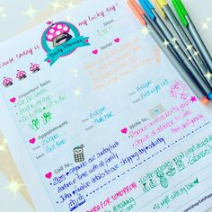 """Discover daily planners like this, perfect to tracking your remindersFor me is very helpfulIf you want your daily planner you can get many options on my Etsy shop, looking for """"Planne Pages"""" section."""