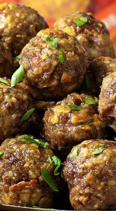 Spicy Tomato Herb Meatballs