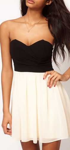 simple and cute dress