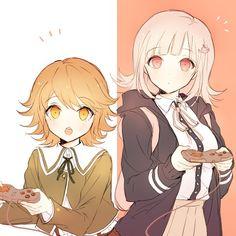 Chihiro y Nanami! Danganronpa