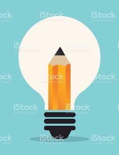 idea icon royalty-free stock vector art Free Vector Art, Icon Design, Royalty, Illustration, Image, Royals, Illustrations