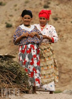 MOROCCO - BERBERS IN THE ATLAS MOUNTAINS                                                                                                                                                                                 More