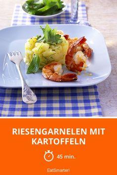 Riesengarnelen mit Kartoffeln - smarter - Zeit: 45 Min. | eatsmarter.de