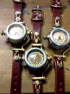 Steampunk and Junk — Suekichi Watch What Is Steampunk, Steampunk Watch, Steampunk Gears, Steampunk Cosplay, Steampunk Wedding, Steampunk Goggles, Arma Steampunk, Steampunk Design, Diesel Punk