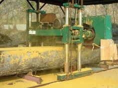 Quality Forestry machinary manufacturers & exporter - buy Large horizontal sawmill with sawing diameter of from China manufacturer. Saw Mill Diy, Portable Saw Mill, Log Trailer, Bandsaw Mill, Skull Art, Woodworking Tools, Chainsaw, Arches, Future