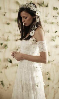 Boho Vintage Bride - Wedding Dress by Grace Loves Lace