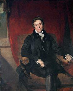 Sir Thomas Lawrence's Portrait of Sir John Soane, 1828-9, from Sir John Soane's Museum in London