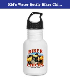 Kid's Water Bottle Biker Chicks Women Girls Rule Road. Product Number: 0001-1543548197 Perfect for school lunches or soccer games, our kid's stainless steel water bottle quenches children's thirst for individuality. Personalized for what kids love, it's both eco-friendly and compact. Made of 18/8, food-grade stainless steel. * No lining & no BPA or other toxins * Wide mouth for easy drinking * Durable, BPA-free & phalate-free screw-on top * Holds 0.35L (nearly 12 ounces) * Thin profile to...