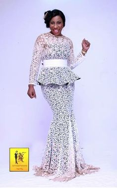 Select A Fashion Style African lace design style 2014 Archives . African Lace Styles, African Dresses For Women, African Print Dresses, African Attire, African Wear, African Fashion Dresses, African Women, African Prints, Ghanaian Fashion