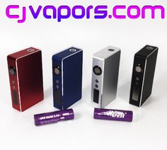 Win a #SIGELEI #150W #MOD and (2) #EFEST 2800 mah, 35A Pulse rated batteries