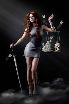 Lady of Justice by Alexia Sinclair, via Flickr