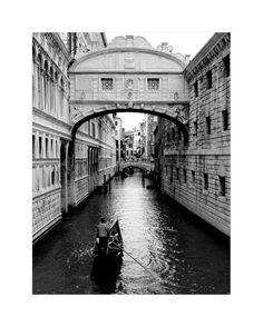 """Bridge of Sighs Venice"" - Art Print by Jessica Kimball in beautiful frame options and a variety of sizes."