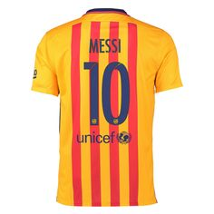 Search results for: 'Nike FC Barcelona MESSI 10 15 16 Away Jersey p tt 740 hero messi' Messi Soccer, Soccer Stadium, Messi 10, Lionel Messi, Fc Barcelona Neymar, Barcelona Football, Kids Football Shirts, Barcelona Spain