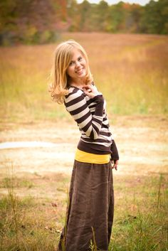 Fresh Modesty - Adorable outfit and skirt!