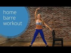 Barre Workout with LA Laker's Girl Jacquelyn Umof (free barre class!) - YouTube