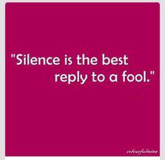 No contact....