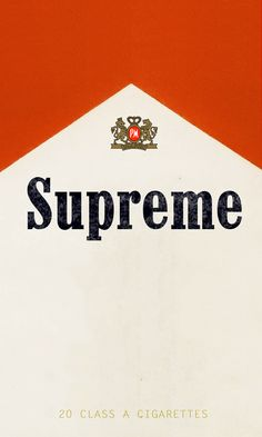 Marlboro x Supreme (2016)