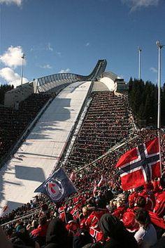 Holmenkollen ski jump. Oslo, Norway - ….Stay cheap and comfortable in Oslo: www.airbnb.com/rooms/1036219?guests=2&s=ja99 and https://www.airbnb.com/rooms/6808361