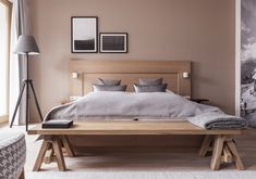 The New Purism - Superior Doppelzimmer Modern, Bed, Furniture, Home Decor, Double Room, Trendy Tree, Decoration Home, Stream Bed, Room Decor