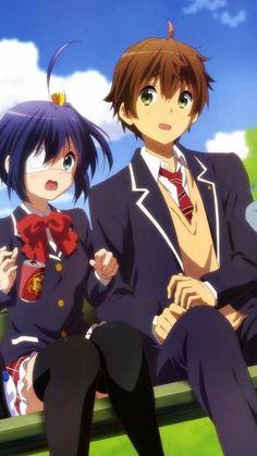 Rikka y Yuuta <3