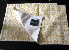 placemats into pillows with no sewing