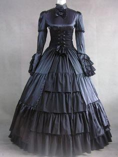 Victorian Lolita dress.