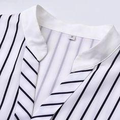 image Neckline Designs, Kurti Neck Designs, Dress Neck Designs, Kurti Designs Party Wear, Sleeve Designs, Khadi Kurta, Sleeves Designs For Dresses, Blouse Neck, Batik Dress
