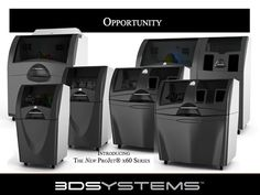 3D Systems -- ProJet x60 series of full color 3D printers (formerly ZCorp) #3Dprinter