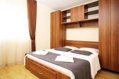 Accommodation Bucharest - short term rent apartments at University Square & Old Town. Serviced Apartments, Bucharest, Old Town, University, Bed, Furniture, Home Decor, Old City, Decoration Home