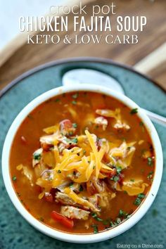 If you're looking for a simple and delicious meal idea, try Instant Pot Chicken Fajita Soup. Pressure Cooker Chicken Fajita Soup is quick,easy and low carb. Indulgent Keto Instant Pot Recipes Source by saraeichner Keto Crockpot Recipes, Low Carb Recipes, Cooking Recipes, Healthy Recipes, Quick Recipes, High Protein Chicken Recipes, Cooking Rice, Cheap Recipes, Simply Recipes
