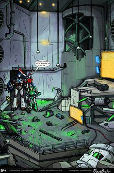 Shattered Glass Prime - Page 54 by SoundBluster on DeviantArt Gi Joe, Classic Sci Fi, Splash Page, Shattered Glass, Transformers Prime, Glass Art, Deviantart, Digital, Robots