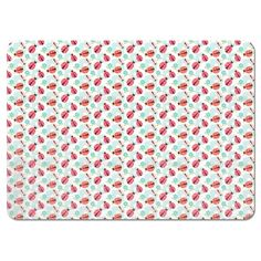 Uneekee Flowers and Ladybugs Placemats
