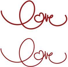 View Design: handwritings: love