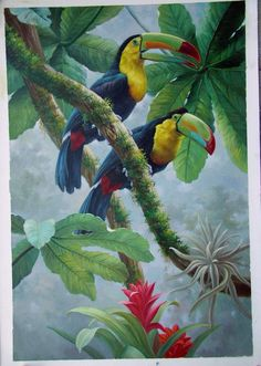 Image detail for -... animal wholesale oil paintings ect Animal painting Oil painting