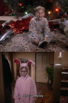 A Christmas Story: Best Christmas movie ever. Period. I can't wait to watch it!