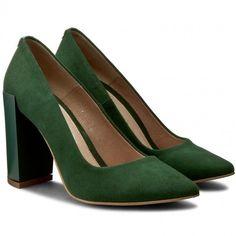 Κοντά μποτάκια BALDACCINI - 596100-A Zielony Zamsz. Konstantina · shoes 45298637114